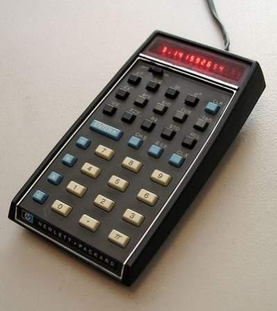 Kieszonkowy kalkulator naukowy HP-35