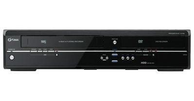 Funai T5D-D8482DB - proste zgrywanie materiałów z kaset VHS na płyty DVD