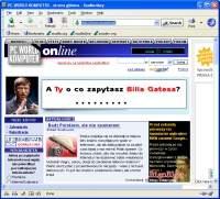 Navigator to przeglądarka WWW oparta na silniku Gecko - używanym w Firefoksie