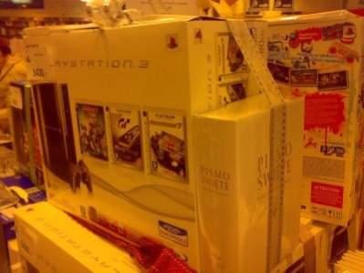 Promocja PS3 w Empiku. Źródło: wykop.pl