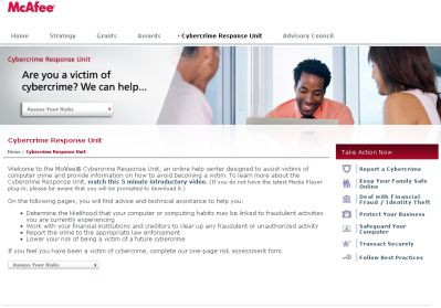"""McAfee uruchamia """"911"""" dla ofiar cyberprzestępstw"""