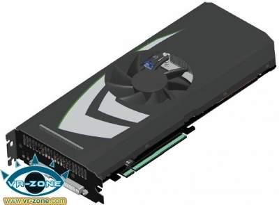 GeForce GTX 295 na pojedynczej płytce PCB (źródło: VR-Zone)