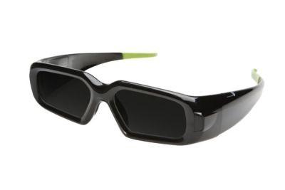 Okulary GeForce 3D Vision wyglądają nieco futurystycznie