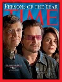 Gates na okładce magazynu Time