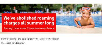Vodafone zniesie opłaty za roaming