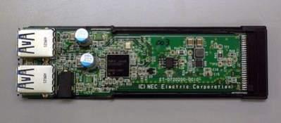 Wyposażona w dwa porty USB 3.0 karta ExpressCard-34