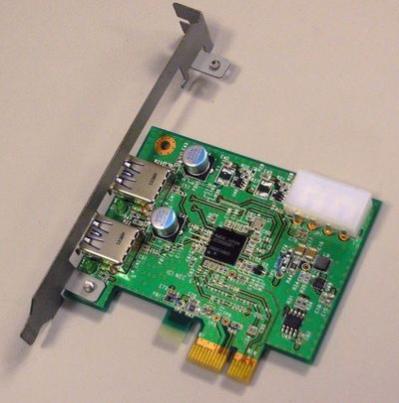 Wyposażona w dwa porty USB 3.0 karta PCI-Express x1