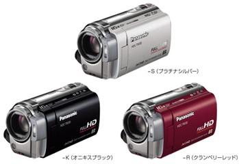 Panasonic: dwie wytrzymałe kamery Full HD, w tym jedna z 64 GB pamięci flash