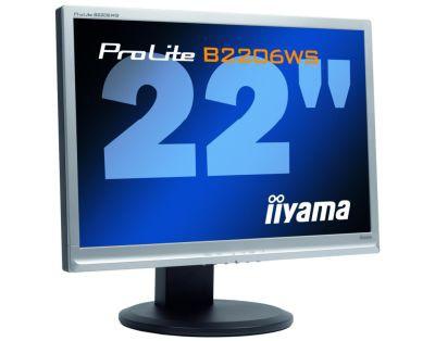ProLite B2206WS, nowy 22-calowy LCD iiyamy