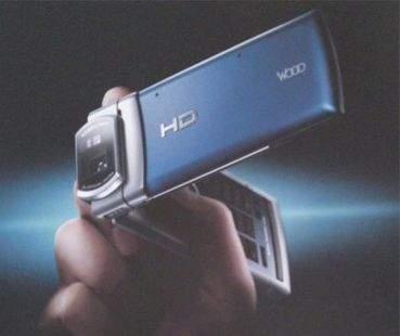 Hitachi Hi-Vision Cam Wooo (źródło: Engadget.com)