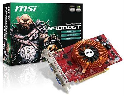 """MSI prezentuje """"zielone"""" karty GeForce 9800 GT"""