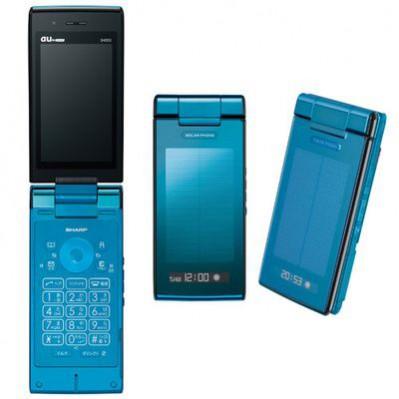 Sharp SH002 - wodoszczelny telefon zasilany energią słoneczną