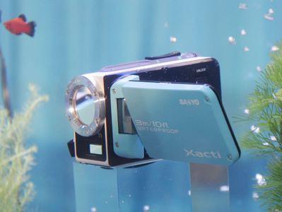 Sanyo DMX-WH1E, czyli wodoszczelna kamera HD z sensorem 11 MP