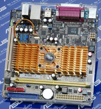 Asus szykuje płytę mini-ITX z dwurdzeniowym procesorem Intel Atom 330