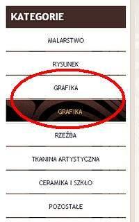 Na stronie nie zabrakło błędów, jak powtarzające się kategorie w menu