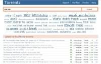 Torrentz to profesjonalnie wykonana wyszukiwarka torrentów.