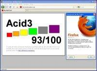 Test Mozilla Firefox 3.5 Final w Acid3