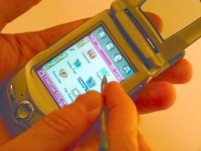 Napędzana Linuksem Motorola A760