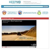 KeepVid to jeden z najprostszych w obsłudze serwisów do pobierania klipów z YouTube.
