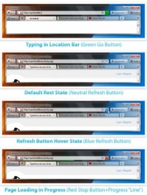 Firefox 4.0 - Mozilla prezentuje koncepcję interfejsu