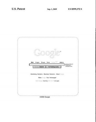 Google opatentowało wygląd wyszukiwarki