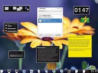 Wybór środowisk graficznych dla Linuksa jest szeroki. Na zrzucie KDE - konkurent popularnego GNOME.