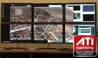 System zbudowany przy wykorzystaniu technologii ATI Eyefinity