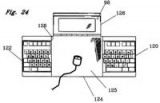Ergonomiczny laptop i ergonomiczna klawiatura