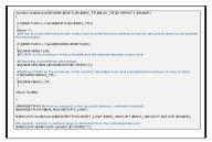 Fragment kodu trojana URLzone zwierający szczegółowe instrukcje odnośnie sposobu wyliczania kwoty do kradzieży