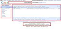 Najważniejsze elementy głównego interfejsu Gmaila.