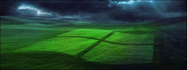 Podłącz projektor Windows XP