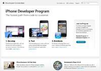 Tutaj zaczyna się droga do sławy. Pierwszy krok to zakupienie konta deweloperskiego w iPhone Developer Program.