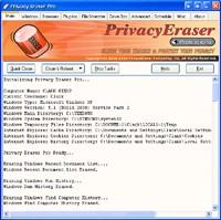 Privacy Eraser Pro 8.0 - wyczyść historię