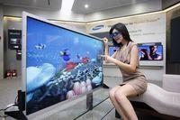 """55-calowy """"trójwymiarowy"""" LCD Samsunga"""