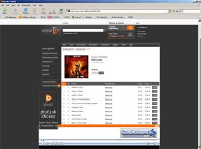 """W Iplay.pl można już kupować muzykę """"pod Firefoksem"""""""