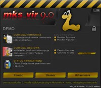 Interfejs programu mks_vir 9