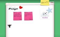 Aplikacja Fridge to wirtualna lodówka, na której inni użytkownicy mogą zostawiać swoje notatki.