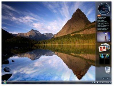 Windows Vista - Sidebar