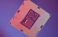 Spód procesora Clarkdale