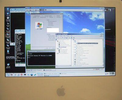 Windows XP na Linuksie na Macintoshu na Intelu na...