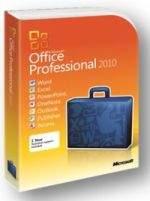 Pudełkowe wydanie Office 2010 Professional