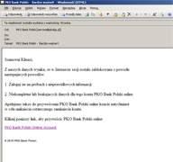 Rzekomy mail od PKO BP