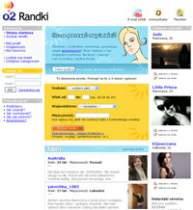 Strona główna serwisu Randki.o2.pl nastawiona jest głównie na mężczyzn.