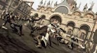 Plac św. Marka w Wenecji: tu dochodzi do wymiany ciosów ze strażą. Dobrze, że Ezio nauczył się wcześniej zadawania ciosów we wszystkich kierunkach.