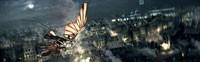 Latająca maszyna da Vinci - Ezio z jej pomocą może dostać się na miejsce walki.