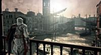Czysty romantyzm: bohater podziwia zachód słońca na Moście Rialto.