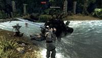 Wraz z nieumarłym wojownikiem stoczysz walkę z potężnym burzowym jaszczurem.