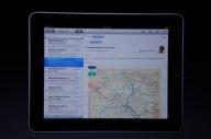 iPad - email oraz mapa