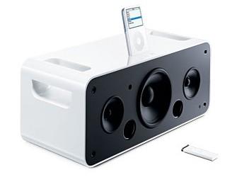 Stereofoniczny zestaw głośnikowy dla iPoda