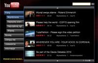 YouTube XL to alternatywny interfejs serwisu, stworzony z myślą o oglądaniu filmów na ekranie telewizora.